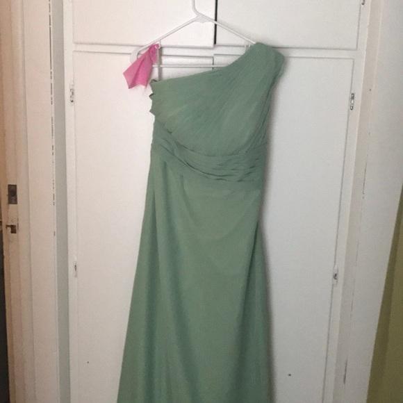 Dresses   Moss Green Bridesmaidprom Dress Size 12   Poshmark